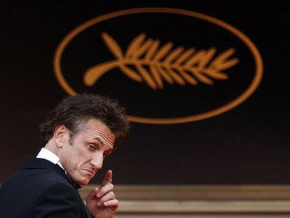 Sean Penn, a su llegada a la ceremonia de inauguración del Festival de Cannes en 2019.