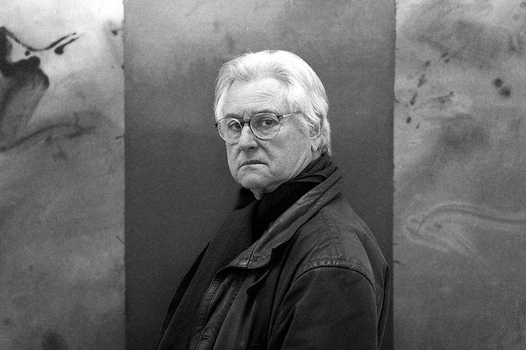 El pintor Alfons Borrell en 1999.