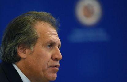 El único candidato a ocupar la Secretaría General de la OEA, Luis Almagro