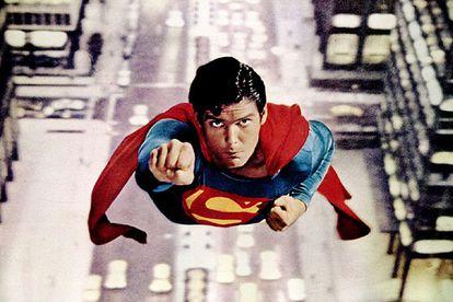 Imagen de la primera entrega de 'Superman', realizada por Richard Donner en 1978.