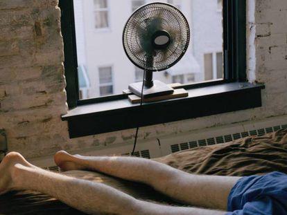 Dormir no es fácil con las altas temperaturas.