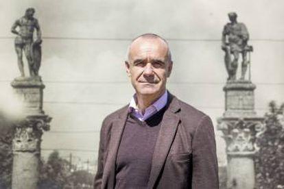 El Delegado de Hábitat Urbano, Cultura y Turismo del Ayutamiento de Sevilla, Antonio Muñoz.