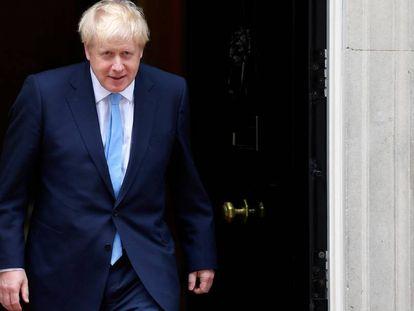 El primer ministro británico, Boris Johnson, este miércoles en Londres.