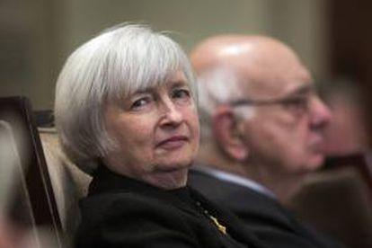 La presidenta de la Reserva Federal de Estados Unidos, Janet Yellen. EFE/Archivo