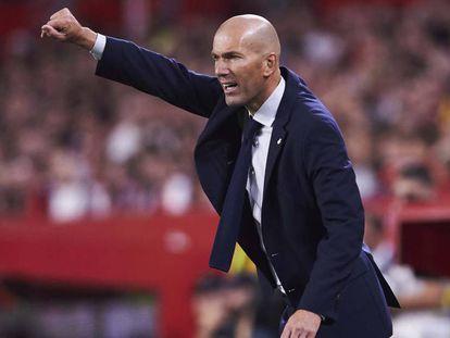 Zidane, este domingo en el Pizjuán. En vídeo, la rueda de prensa del entrenador del Madrid tras el partido contra el Sevilla.