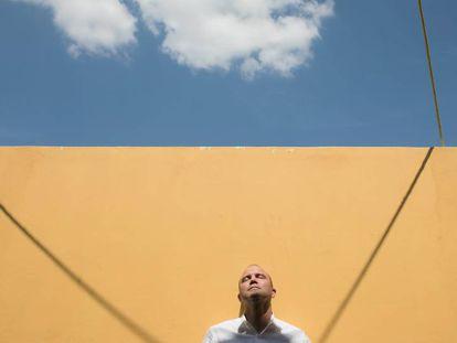Ben Rhodes, antes del Hay Festival.