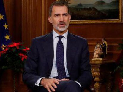 """El Rey admite la """"seria preocupación"""" por el descrédito de las instituciones y Cataluña"""