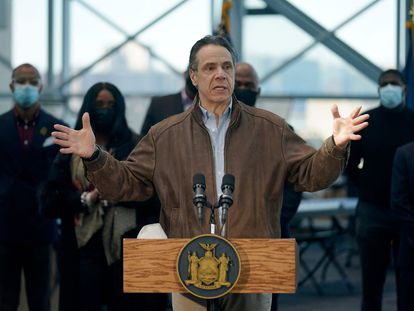 El gobernador de Nueva York, Andrew Cuomo, en una imagen del 8 de marzo.