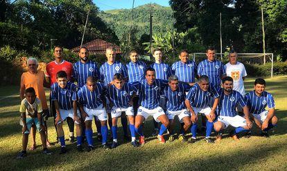 El equipo de Guarajá, en la zona rural de Tocantins.