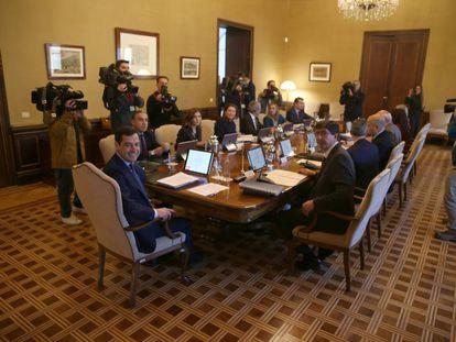 Consejo de Gobierno del bipartito andaluz.