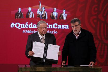 Mexican President Julio Scherrer traveled with Ibra in October 2020.