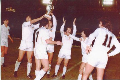 La Supercopa de Europa que el Valencia C.F. ganó en 1980.