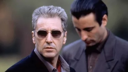 Al Pacino y Andy García, en 'El padrino III'.