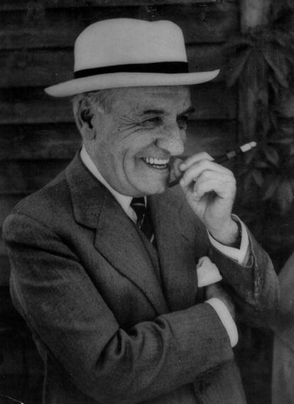 José Ortega y Gasset (1883-1955), en 1949 en Aspen (Colorado).