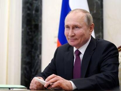 El presidente de Rusia, Vladímir Putin, el pasado 25 de marzo.