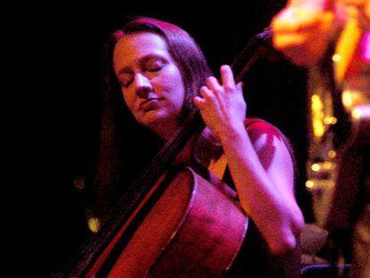 La violonchelista Jane Scarpantoni.
