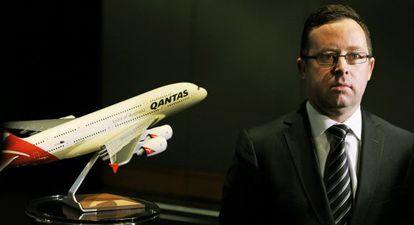 El consejero delegado de Qantas, Alan Joyce.