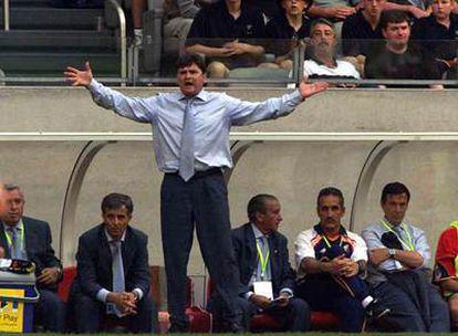 Algunos líderes, como el entrenador José Antonio Camacho, son conocidos por sus enfados y gritos.