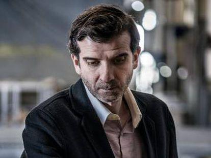 El periodista Miguel Ángel García.