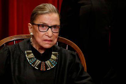 La juez Ruth Bader Ginsburg.