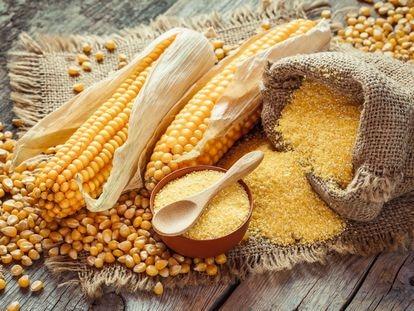 La harina de maíz tiene cierta facilidad para enranciarse debido a su contenido en grasas.