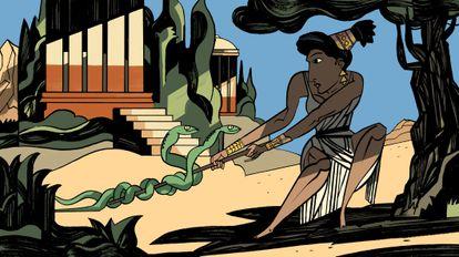 Ilustración de Javier Olivares.