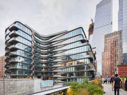 El edificio que el estudio de Zaha Hadid ha diseñado en Chelsea.