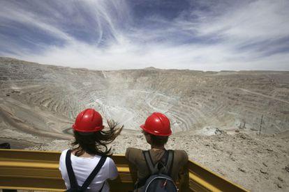 Una imagen de Chuquicamata, en Chile.