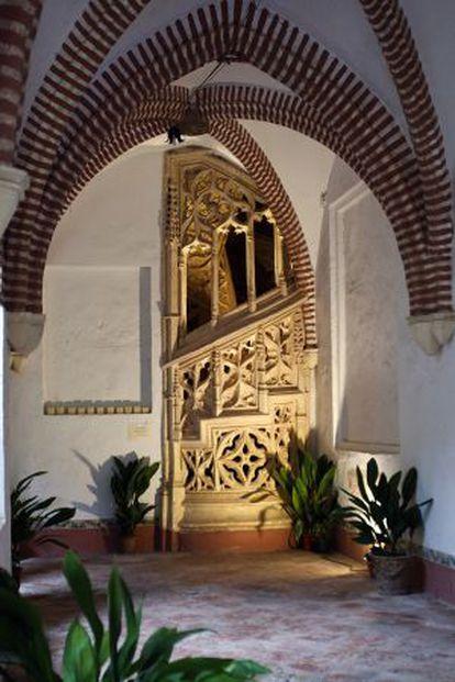 Interior del monestir de Sant Jeroni de Cotalba.