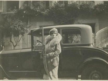 La escritora rusa Nadejda Aleksandrovna Lókhvitskaia (1872-1952), que firmaba como Teffi.