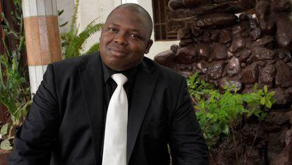 Mamadou Gouro Sidibé, creador de la aplicación.