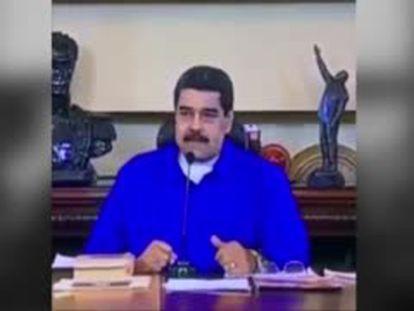 Maduro ironiza sobre los puntos cardinales
