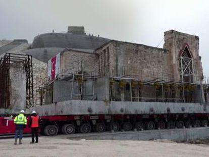 El templo islámico Er Rizk, un edificio histórico del siglo XV, tiene 609 años de antigüedad y pesa más de 1.700 toneladas