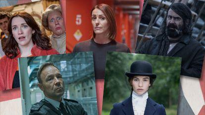Dramas románticos, historias carcelarias y comedias absurdas, las series británicas de esta temporada se salen