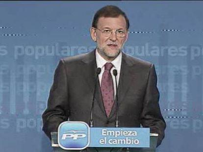 """Rajoy ignora al PP más duro: """"Es una gran noticia, no hubo concesiones"""""""