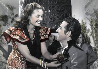 Carmen Sevilla y Luis Mariano, mucho poderío para 'Violetas imperiales'.
