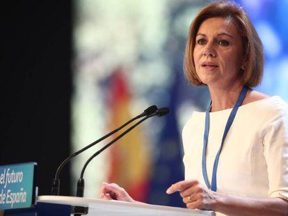 María Dolores de Cospedal en el XIX Congreso del PP.