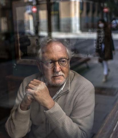 Héctor Abad Faciolince, la semana pasada en Madrid.
