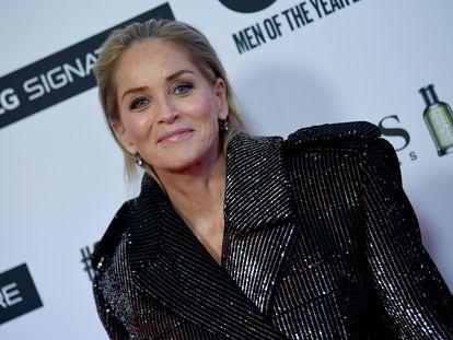 Sharon Stone, en los premios de la revista masculina 'GQ' el pasado noviembre.