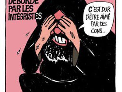 Portada de 'Charlie Hebdo' en 2006 en la que aparece una caricatura de Mahoma.