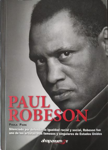 Cover of the book 'Paul Robeson'.
