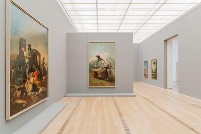 Salas de la Fundación Beyeler con su exposición Goya.