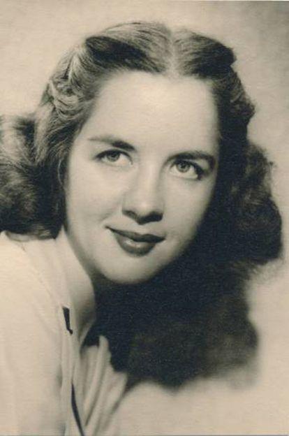 Betty French Jarmusch, en su etapa de periodista.