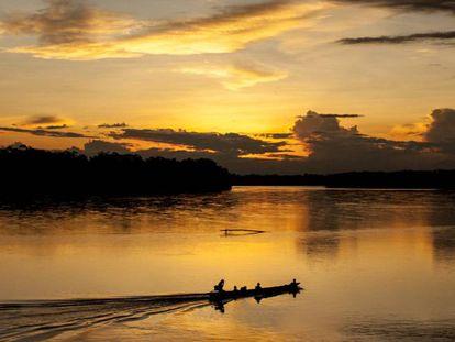 Los achuar navegan y pintan de diversidad los ríos de oro del Ecuador.