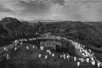 Imagen del proyecto Lalibela, cerca del cielo, de la fotógrafa española Cristina García Rodero.