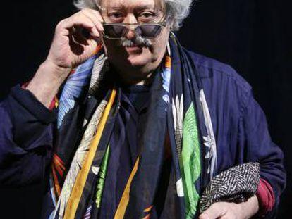 El director teatral Mario Gas, el martes en el Teatro de la Abadía de Madrid.