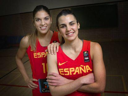 Leticia Romero y Marta Xargay