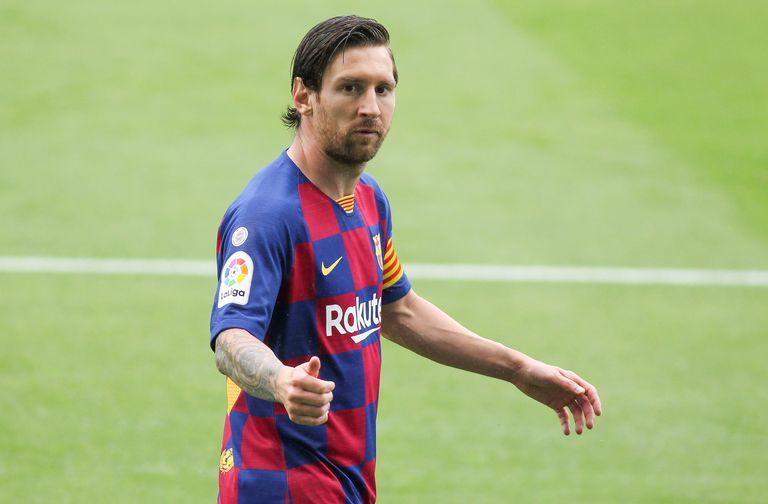 Messi, en el partido ante el Celta, el pasado día 23.   27/06/2020 ONLY FOR USE IN SPAIN