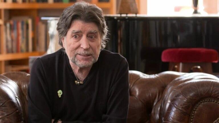 Joaquín Sabina, en la entrevista con Pepe Viyuela en TVE.