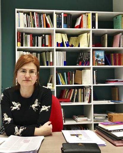 Silvia Sesé, editora de Anagrama.